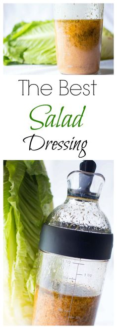 Since I discovered this dressing, I really think it's the best! I'm make it almost every week and the whole family loves it! Really tasty with a little dill flavor and sweet little taste. My Recipes, Low Carb Recipes, Favorite Recipes, Healthy Recipes, Veggie Recipes, Best Salad Dressing, Dressing Recipe, Drying Herbs, Soup And Salad