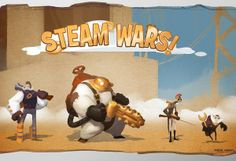 Steam Wars Character Design by Saiful Haque