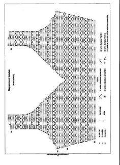 Crochet clothes 290341507227847379 - Robes au crochet 25 / 2 – crochet d'amour Source by Débardeurs Au Crochet, Gilet Crochet, Crochet Diagram, Crochet Woman, Crochet Blouse, Irish Crochet, Crochet Stitches, Crochet Patterns, Hand Crochet