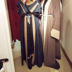 IG: _AzraHussain || IG: BeautiifulinBlack || Abaya Style ||