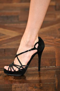 86fc9e0f16778  lt 3 sexy black heels Ralph Lauren Shoes