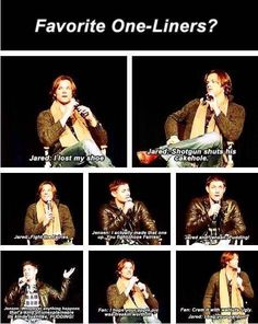 J2 favorite one liners =]