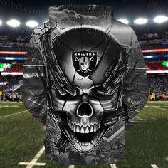 Men / women oakland raiders skull sweatshirt, oakland raiders sweatshirt, nfl oakland raiders apYou can f. Oakland Raiders Man Cave Ideas, Oakland Raiders Funny, Oakland Raiders Sweatshirt, Raiders Hoodie, Raiders Girl, Oakland Raiders Football, Raiders Fans, Raiders Stuff, Raiders Players
