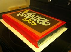 Charlie and the Chocolate Factory; Wonka Bar cake