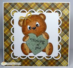 """CREATING with COLOR by CASSANDRA: Peachy Keen Stamps ~ Challenge #13-46 : """"Anything Goes"""""""