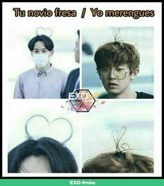 Ideas For Memes Kpop Chanyeol Memes Exo, Funny Kpop Memes, Memes In Real Life, All The Things Meme, Park Chanyeol, Baekhyun, K Pop, Parejas Goals Tumblr, Friend Memes