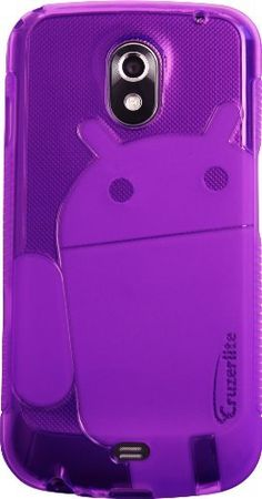 Purple - Cruzer Lite Androidified A2 TPU Case - For Samsung Galaxy Nexus (SCH-i515 & GT-i9250) by Cruzer Lite, http://www.amazon.com/dp/B006MKJHYM/ref=cm_sw_r_pi_dp_U8Irqb01JXZBK  Comes in all different collors