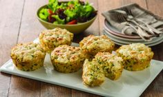 These zucchini rice cakes are a quick and simple way to whip up a nutritious meal for you or the kids. Have them for dinner or lunch, or even pack them for school or work.