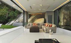QUINCHOS MINIMALISTAS | La casa Amanzi es un a importante villa ubicada en Phuket Tailandia.