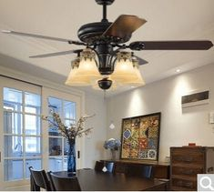 Many people complain about buying ceiling fans with lights being a hard task. Chandelier Fan, Fan Lamp, Best Ceiling Fans, Look Good Feel Good, Lights, Living Room, Bedroom, Top, House