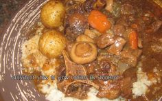 Posts about beesstert written by kreatiewekosidees Pressure Cooker Oxtail, Pressure Cooker Recipes, Slow Cooker, Oxtail Recipes, Beef Recipes, Cooking Recipes, Recipies, South African Recipes, Ethnic Recipes