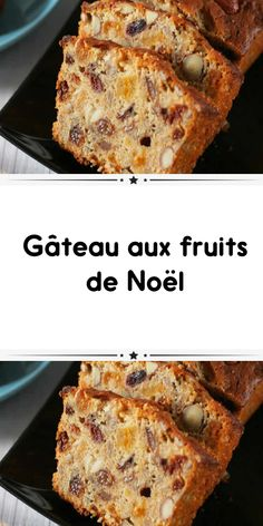 Gâteau aux fruits de Noël Christmas fruit cake a delicious cake for your Christmas parties. A recipe for how to make Christmas fruit cake so simple and easy. Pear And Chocolate Cake, Cake Recipes, Dessert Recipes, Fig Cake, Gateau Cake, Almond Cakes, Food Cakes, Fruit Cakes, Savoury Cake