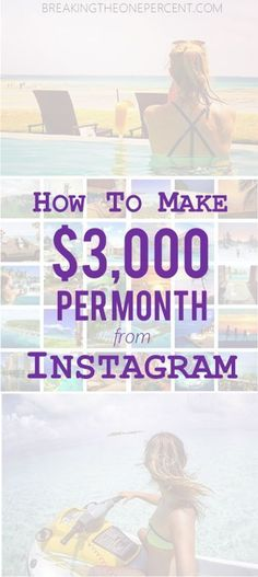 Make Money with Instagram: Emma turned her Instagram following into a reliable income source, and now she travels the world. Read her full interview. Make Money Online | Social Media Marketing | Influencer Marketing | Earn Extra Money
