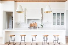 Kitchen island chairs long kitchen island with five stools view full size . Home Design, Luxury Interior Design, Kitchen With Long Island, Long Kitchen, Kitchen Sink, Kitchen Islands, Kitchen Layout, Layout Design, Design Ideas