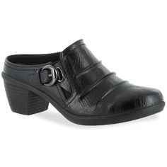 Easy Street Calm Women's Comfort Mules, Size: 11 Ww, Black