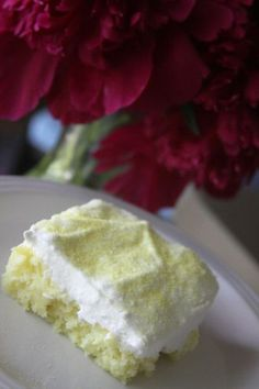 Weight watchers lemon cake - 7up. lemon cake mix and cool whip...remember sweets are treats try to limit sweets to healthy treats