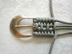 Tutorial for weaving a belt   DIY Hangout