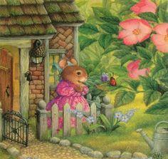 Сьюзен Вилер, талантливая художница из Техаса, создала в 1995 году радостный мир «Holly Pond Hill» («Холм у водоёма, возле падуба») для своих четырёх детей; мир, заполненный…