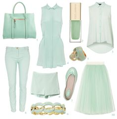 PASTEL SELECTION: Mighty Mint!    https://www.facebook.com/sweetnraw