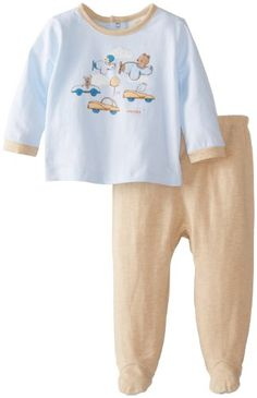 ABSORBA Baby-Boys Newborn Footed Pant Set, Blue/Khaki, 0-3 Months - $7.52 - 34% off.