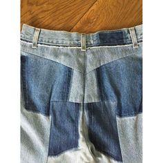 blue Plain Cotton VETEMENTS Jeans - Vestiaire Collective