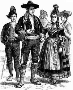 Национальный костюм испании история картинки