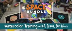 Gina Lee Kim Space Art Lesson Deep Space Sparkle, Watercolor Ideas, Water Colors, Art Lesson Plans, Art Lessons, How To Plan, Decor, Color Art Lessons, Decoration