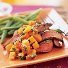 Spiced Persimmon Salsa Recipe | MyRecipes.com