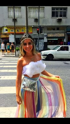 Fantasias Carnaval 2019 Looks and Fantasies Carnival Costumes Carnival street block looks, street block fantasy, carnaval 2019 Music Festival Outfits, Festival Wear, Festival Fashion, Carnival Dress, Carnival Costumes, Diy Carnival, Carnival Makeup, Couple Halloween Costumes, Halloween Outfits