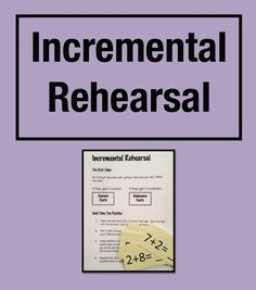 """FREE MATH LESSON - """"Strategy for Math Fact Strugglers: Incremental Rehearsal (Grades 1 - 6)"""" - Go to The Best of Teacher Entrepreneurs for this and hundreds of free lessons.  8th - 11th Grade   #FreeLesson   #Math  http://www.thebestofteacherentrepreneurs.net/2014/04/free-math-lesson-strategy-for-math-fact.html"""