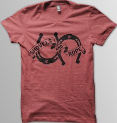 Image of Shovels & Rope Tshirt (red)
