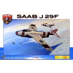 Maquette 1/48 - SAAB J29 F - Pilot Replicas