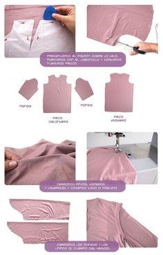 Cómo hacer un vestido camisero DIY