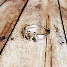 Kappa Delta Classic Letter Ring by LetteredCo on Etsy