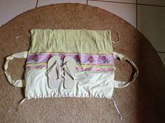 Bolsa toalha com chinelo