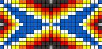 Alpha Friendship Bracelet Pattern #8376