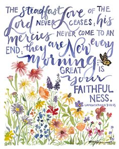 New Every Morning -Ruth Simmons