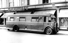 Southdown bus in Worthing West Sussex.