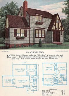 1928 Home Builders Catalog - The Cleveland