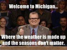 Michigan weather meme