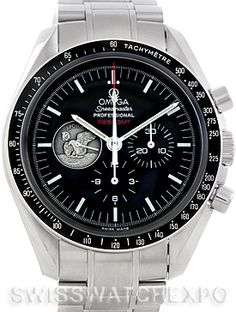 6a944bc9713 Omega Speedmaster Professional Moonwatch 311.30.42.30.01.002 On july 21st  1969 at 02.56 Apollo