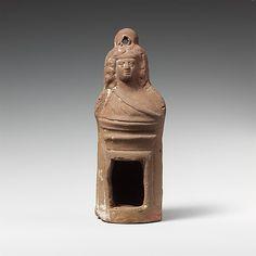 Terracotta lantern,imperial period,ca 2nd century AD,Roman-Egyptian culture