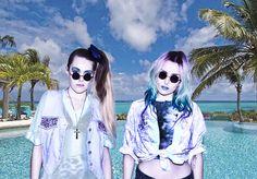"Following my favorite ""fashion trend""...""Seapunk...LOL""."