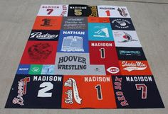 The Dixie Chicken Quilts: T-Shirt Quilt Tutorial - Part 2