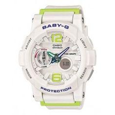 Casio Casio Watch Baby-G Bebiji Jiraido Ladies New G Watch, Casio Watch, Casio Baby G Shock, Digital Thermometer, Watch Brands, Digital Watch, Bga, Watches, Things To Sell