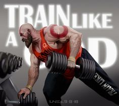 """Hi guys here is my new fan art for my favorite game GOD OF WAR """"train like a god"""",hope you like it,thanks! Marvel Video Games, Resident Evil Video Game, Red Video, Kratos God Of War, Gym Images, Fan Poster, Hope In God, Batman Comic Art, Gym Workout Tips"""