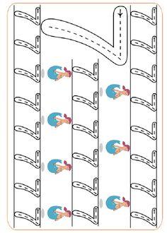 Druckbare aktivitäten Üben Sie das Schreiben der Zahlen. http://www.vorschuleaktivitaten.pequescuela.com/aktivitaten-vorschule-drucken-graphomotorische-zahlen36.html