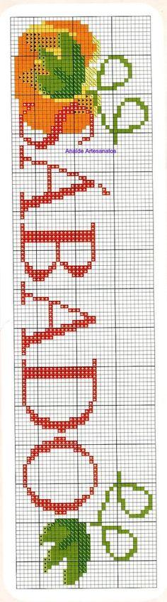 Anaide Ponto Cruz: Gráficos em ponto cruz de semaninhas.                                                                                                                                                                                 Mais