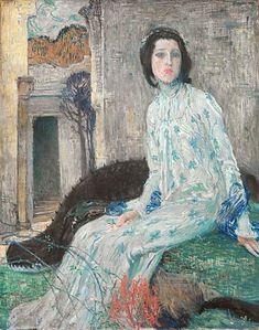 Do aukce jde jedna ze studií ke stěžejnímu dílu Jana Preislera Fine Art, Applied Arts, Painter, Painting, Art, Alfons Mucha, Portrait, Paul Gauguin, Z Arts