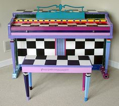 Funky Hand Painted Furniture | Hand painted furniture for the web Funkie Finds New and old furniture ...
